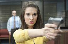 Conspiracy theories and Interior Designs Annie Points Gun