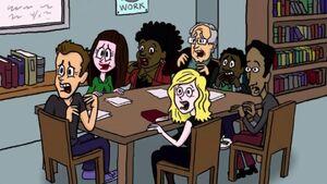 Deans cartoon group