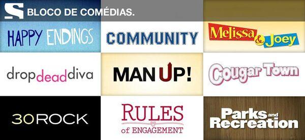 Bloco de Comedias do canal sony