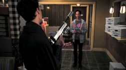 Abed and Evil Abed