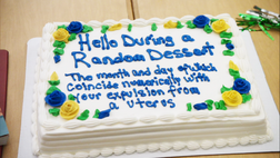 MC birthday cake