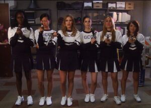 GCC Cheerleaders