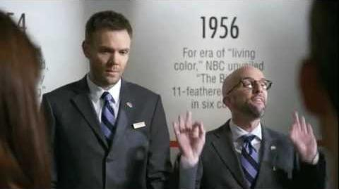 NBC Giving odd jobs to Joel McHale and Jim Rash (from Community) during it's hiatus Promo