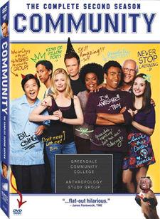 Community Season Two DVD