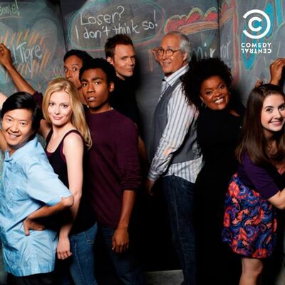 Community no Comedy Central Promo 1