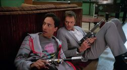 Abed and Jeff take cover