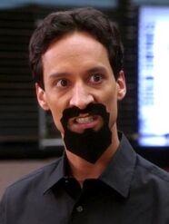 Sneering Evil Abed