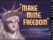 Thumbnail for Make Mine Freedom