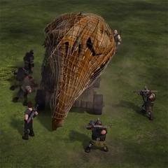 red utilizada para captura dragones, en este caso un <a href=