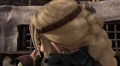 Astrid besa a Hipo Festival del Deshielo