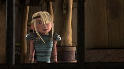 Astrid en la carcel de Heather
