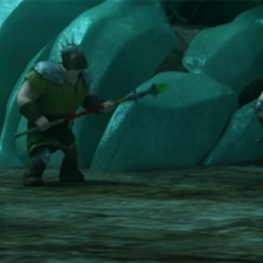 Lanzas cuyas puntas tienen raíz de dragón, usadas para inmovilizar dragones de gran tamaño como un Salvajibestia
