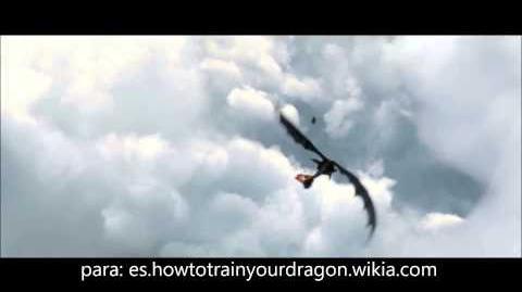 Tomas de como entrenar a tu dragon, cancion, astrid goes for a spin, banda sonora