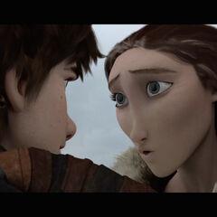 Valka confesandole a su hijo.