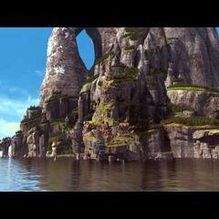 Isla de Berk en Dragones de Berk