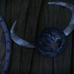 El casco quemado de Barnstat