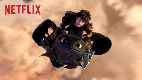 DreamWorks Dragones Carrera al borde - Tráiler oficial - Netflix HD
