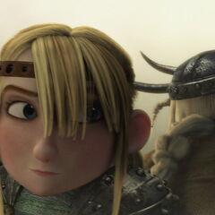 Astrid y Brutilda como equipo