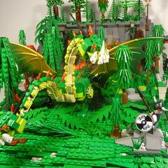 Set de ladrillos Lego de Cremallerus