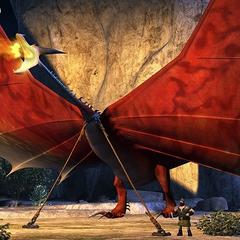 Tifómerang usado para proteger la isla de los Cazadores de Dragones