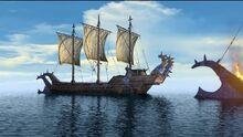 Navio de cazadores de dragones