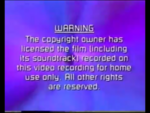 Paramount Home Entertainment 2000 Warning Scroll (S1)