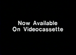 Artisan Entertainment Now Available on Videocassette