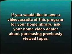 Walt Disney Home Entertainment and Touchstone Home Entertainment Video Dealer Screen 1988-1991