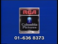 RCA-Columbia Pictures International Video Piracy Warning (1984) (S2) (V1)