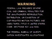 MGM-CBS Warning
