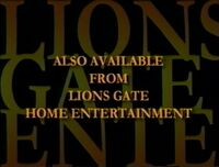 Also Available from Lions Gate Home Entertainment