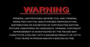 DreamWorks Warning Screen (DVD Capture)