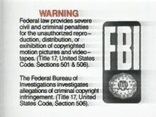 PolyGram USA Home Entertainment Warning 3