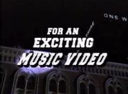 For An Exciting Music Video