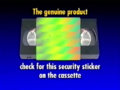 Walt Disney Home Video Piracy Warning (1995) Hologram (Version 1)