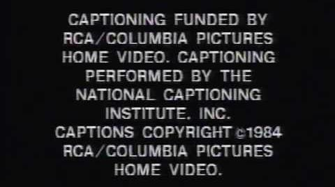 Opening & Closing to Moscow on the Hudson 1984 VHS
