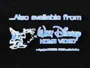 Also Available From Walt Disney Home Video