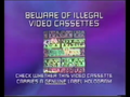 CIC Video Piracy Warning (1997) (DreamWorks) Hologram