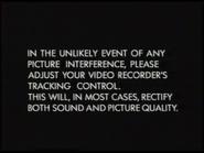BBC Video Tracking Control Screen