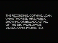 BBC Video Warning Screen (1997)