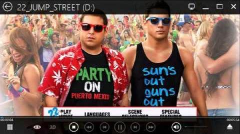 Opening To 22 Jump Street 2014 UK DVD