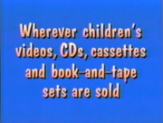 Only from Sony Wonder Bumper 1997-2000