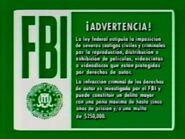 1990s FBI Warning 1 (Spanish)