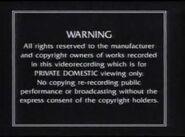 Thames video warning screen