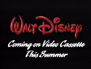 Coming on Video Cassette This Summer (WDHV)