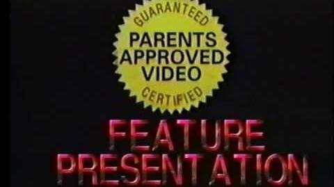 Parents Approved Video (Adjust Tracking, FBI Warning, Logo and Feature Presentation)