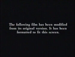 Second Fox modified screen