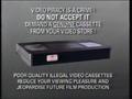 Warner Home Video Piracy Warning (1990)