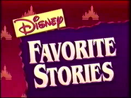 Disney's Favorite Stories intro