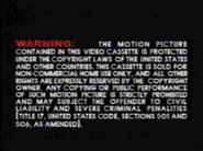 Golden Books Video Warning 4